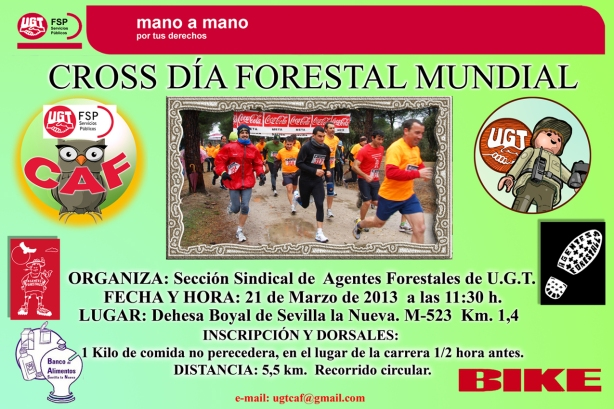 Cross Día Forestal Mundial